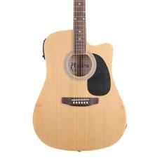 Almira F650N-C Naturel Elektro Akustik Gitar