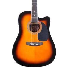 Almira F650N-SBC Sunburst Elektro Akustik Gitar