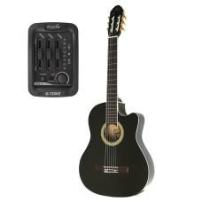 Almira MG917CE-BK Siyah Elektro Klasik Gitar