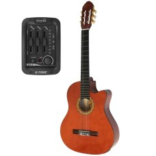 Almira MG917CE-WA Naturel Elektro Klasik Gitar