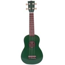 Carlos CRU50-GRN Yeşil Soprano Ukulele