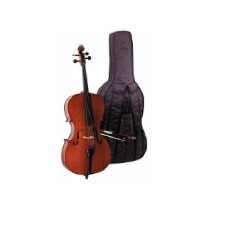 CELLO 1/4 SCALE +KILIF+YAY, KARARTILMIŞ AKÇAAĞAÇ BU