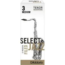 Daddario Woodwinds Jazz Select RSF05TSX3M Tenor Saksafon Kamışı No:3 Medium