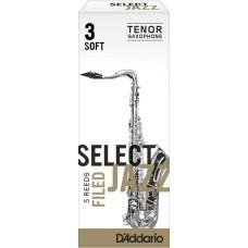 Daddario Woodwinds Jazz Select RSF05TSX3S Tenor Saksafon Kamışı No:3 Soft