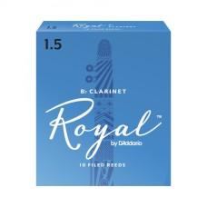 Daddario Woodwinds Royal RCB1015 Sib Klarnet Kamışı No: 1,5