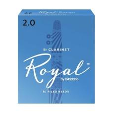 Daddario Woodwinds Royal RCB1020 Sib Klarnet Kamışı No:2