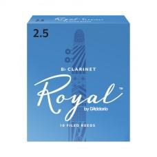 Daddario Woodwinds Royal RCB1025 Bb Klarnet Kamışı No:2,5