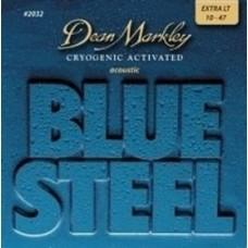 Dean Markley Blue Steel 2032 (10-47) - Extra Light Akustik Gitar Tel Seti