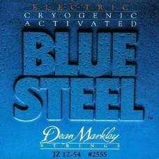 Dean Markley Blue Steel 2555 (12-54) - Jazz Elektro Gitar Tel Seti