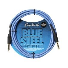 Dean Markley Blue Woven 3m Enstrüman Kablosu (Düz Uçlu)