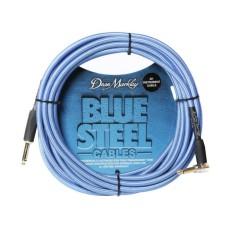 Dean Markley Blue Woven 6m Enstrüman Kablosu (Düz - L)