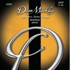 Dean Markley Nickel Steel Light 2502 (9-42) - Elektro Gitar Tel Seti