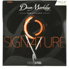Dean Markley Nickel Steel Regular 2503 (10-46) - Elektro Gitar Tel Seti