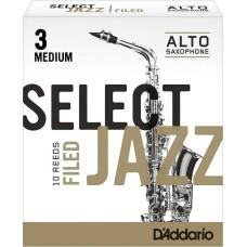 Rico Jazz Select RSF10ASX3M Alto Saksafon Kamışı No:3 Medium
