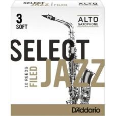 Rico Jazz Select RSF10ASX3S Alto Saksafon Kamışı No:3 Soft
